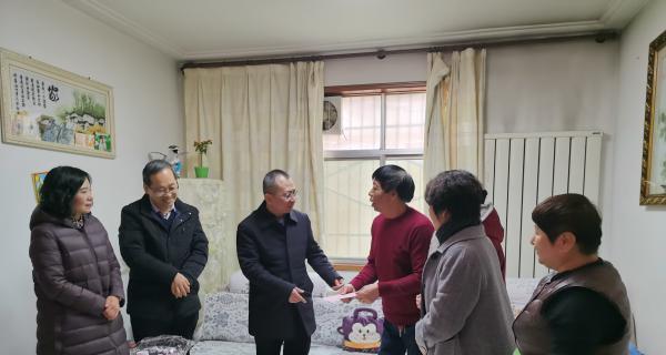 渭南市政府领导慰问贫困妇女儿童