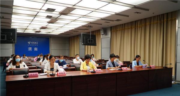 市妇联召开渭南市家庭文明建设工作推进暨最美家庭家风故事交流视频会